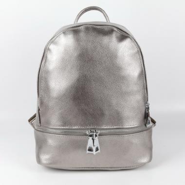 Рюкзак  Alfa. Серебро
