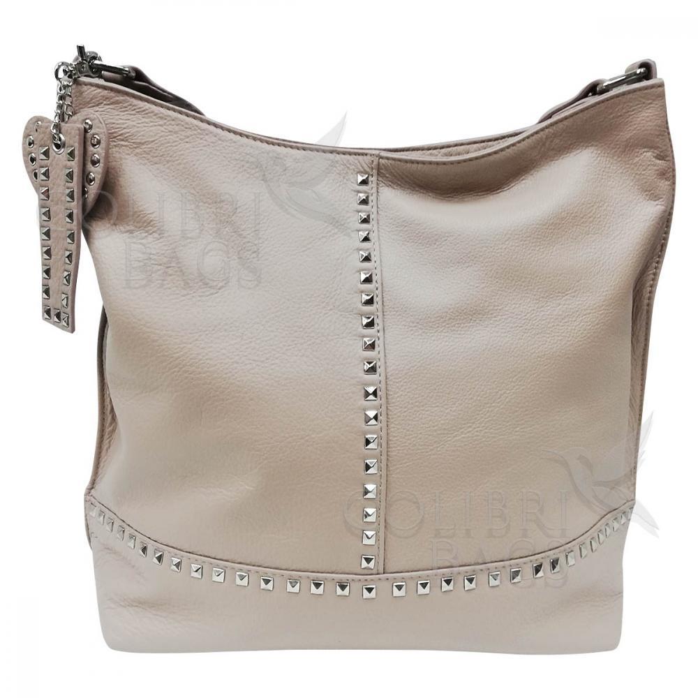 d10d8e157eab Женская кожаная сумка Amalfi. Слоновая кость