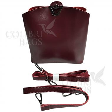 Женская сумка ARUBA без кисточки. Ежевичный