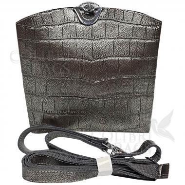 Женская кожаная сумка Aruba Piton. Хамелеон