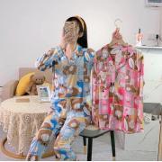 Пижама Бамбук DF-03. Цвет2. Голубой.