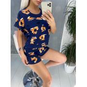 Пижама Хлопок DF-04. Цвет1