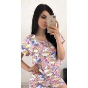 Пижама Хлопок DF-04. Цвет3