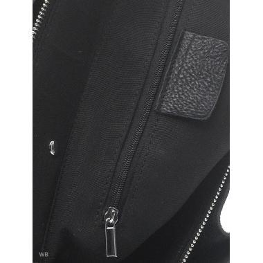 Женская кожаная сумка BENITA. Черный