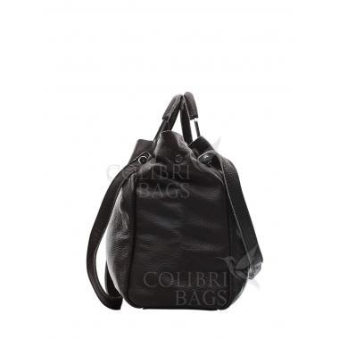 Женская кожаная сумка BENITA. Шоколад