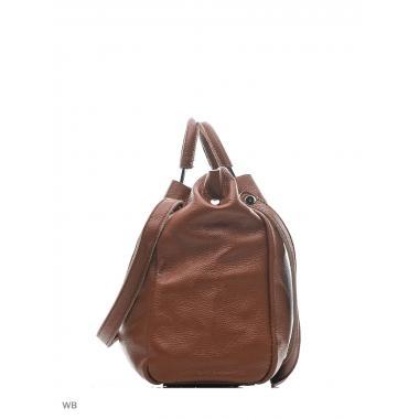 Женская кожаная сумка BENITA. Светло-коричневый