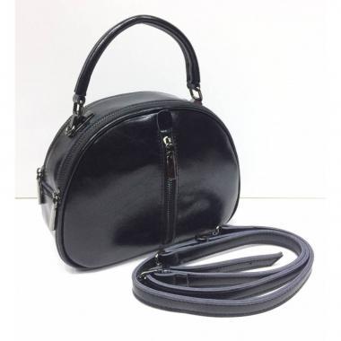 Женская кожаная сумка BIANKA MINI LIGHT. Черный.