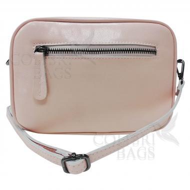 Женская кожаная сумка Bogema. Розовый