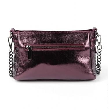 Женская кожаная сумка-клатч BONIA. ЕЖЕВИЧНЫЙ.