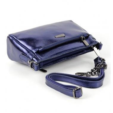 Женская кожаная сумка-клатч BONIA. САПФИР.