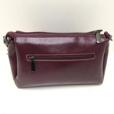 Кожаная сумка-клатч BONIA ЗАМША. ЕЖЕВИЧНЫЙ.