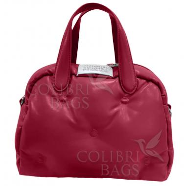Женская стеганая сумка BOOLY ONE. Гранатовый
