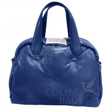 Женская стеганая сумка BOOLY ONE. Темно-синий