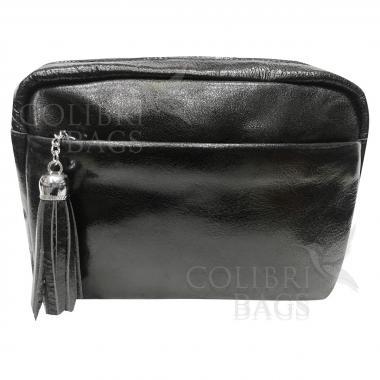 Женская кожаная сумка BROODY. Черный