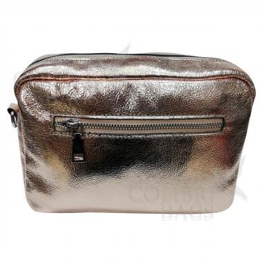 Женская кожаная сумка BROODY.  Золото