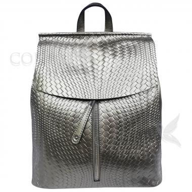 Рюкзак-трансформер CASUAL  ILLUSION. Серебро