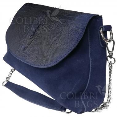 Женская кожаная сумка CAYMA MINI. Черный.