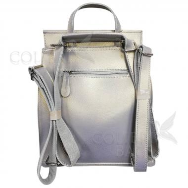 Рюкзак-трансформер Classic. Серый перламутр