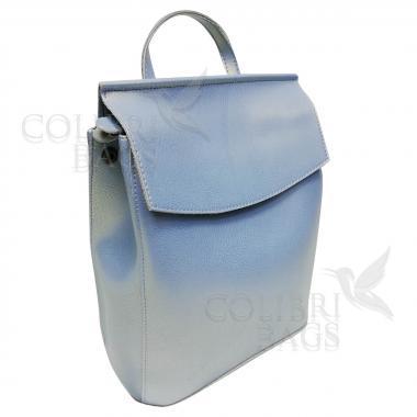 Рюкзак-трансформер Classic. Голубой перламутр
