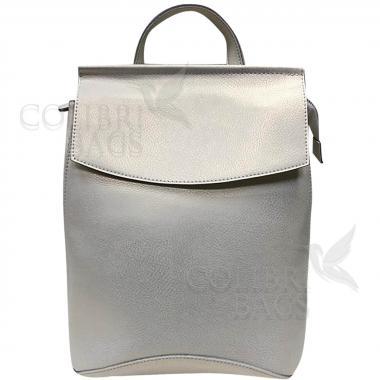 Рюкзак-трансформер Classic. Белый перламутр.