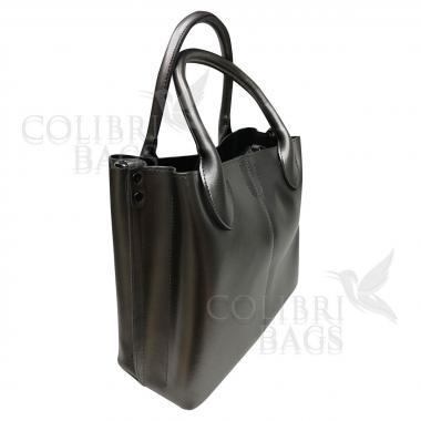 Женская кожаная сумка CUBA. Бронза
