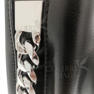 Женская кожаная сумка Dolce. Черный