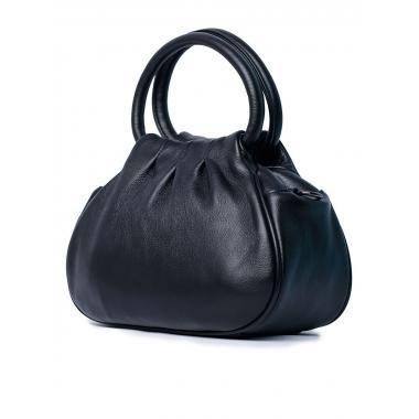 Женская кожаная сумка DRAMY. Черный.