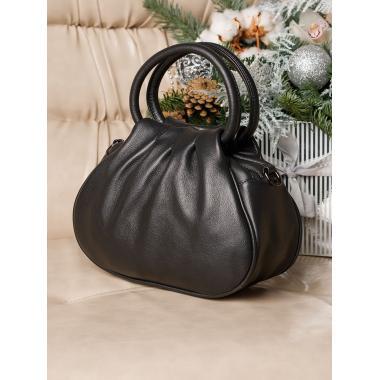 Женская кожаная сумка DRAMY. Шоколад.