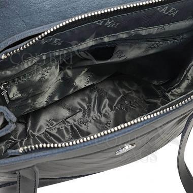 Кожаный рюкзкак-трансформер Dyngo. Гранат