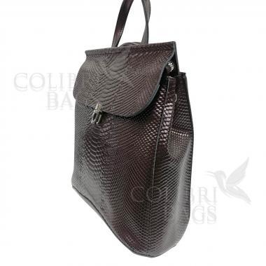 Рюкзак-трансформер Elegant Illusion. Кофе жемчужный