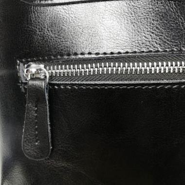 Рюкзак-трансформер  Emily замша. Черный