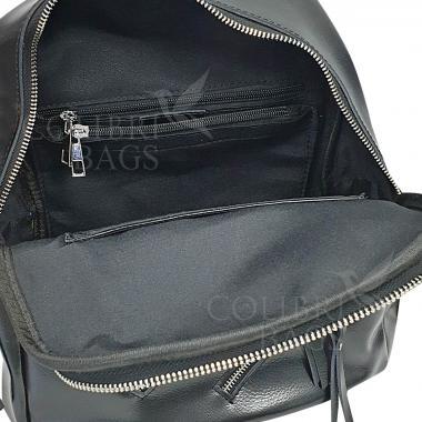 Кожаный рюкзкак-трансформер Endy. Лиловый