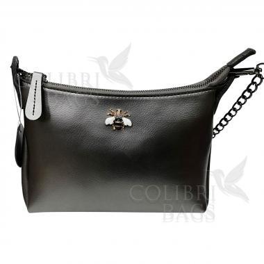 Женская кожаная сумка Amalfi. Бежевый