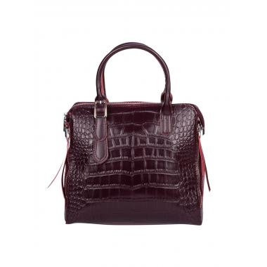 Женская кожаная сумка FLORA