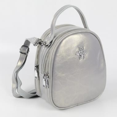 Рюкзак-трансформер FLY. Темное серебро