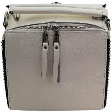 Рюкзак-трансформер FRILLY. Белый перламутр .