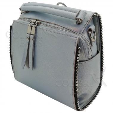 Рюкзак-трансформер FRILLY. Голубой перламутр.