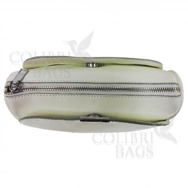 Женская кожаная сумка Giorgia. Белый.