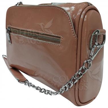 Женская кожаная сумка Giorgia. Бежевый.