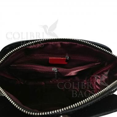 Женская кожаная сумка Giorgia. Красный.