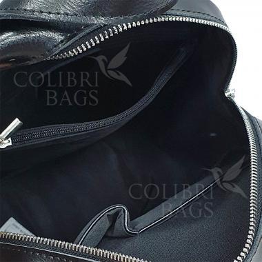 Кожаный рюкзкак-трансформер Goa. Лиловый