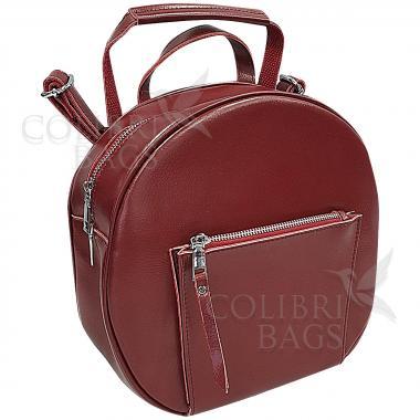 Кожаный рюкзкак-трансформер Goa. Гранат