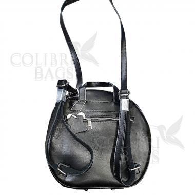 Кожаный рюкзкак-трансформер Goa. Черный