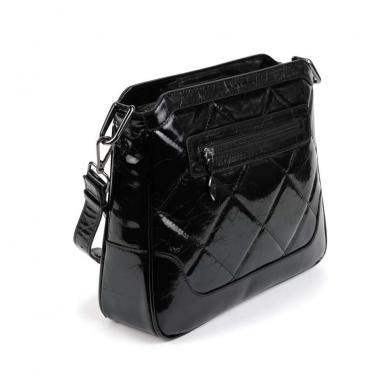 Женская кожаная сумка KALINKA QUADRO.
