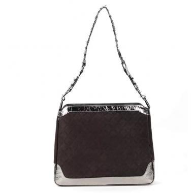 Женская кожаная сумка KALINKA QUADRO ЗАМША.