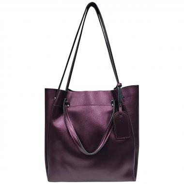 Женская кожаная сумка ILLARIYA. АМЕТИСТ.
