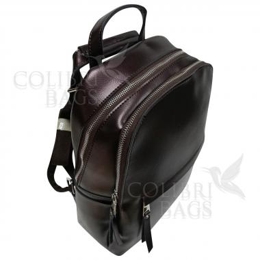 Рюкзак-трансформер INDIKA Гладкая. Кофе жемчужный
