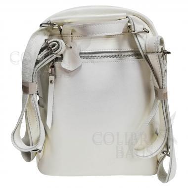 Рюкзак-трансформер Indika Гладкая. Белый