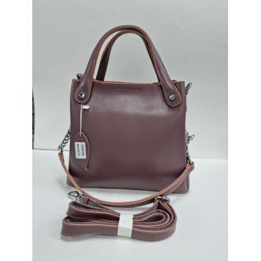 Женская кожаная сумка INDURO. Лиловый