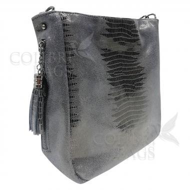 Женская кожаная сумка Ingrid Nova. Темно-зеленый